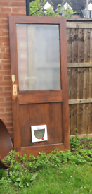 Free backdoor with catflap