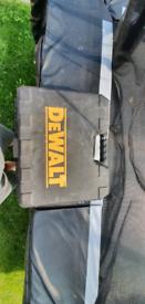 Dewalt cordless drill x 2 batterys & charger