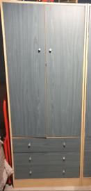 Blue wardrobe x2