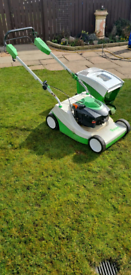 Viking/stihl self propelled Petrol lawnmower