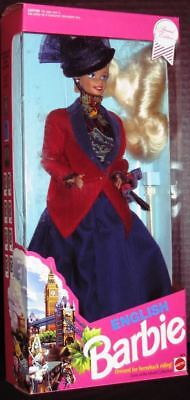 English Barbie Doll (Dolls of the World Collection)(New)