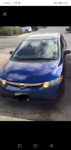 2006 HONDA CIVIC W/ PW, PL, AM/FM, CD, AND MORE
