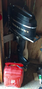For sale 1970s Mercury 9.9 hp outboard motor