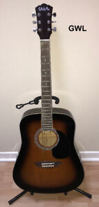 GWL, Huntington, Nova, or JBP Acoustic Guitar