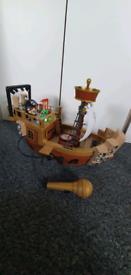 FGTEEV Raptain Hooks Sea Wagon
