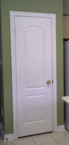 "Door 24"" x 80"" Perfect Condition White, retail value $114+HST"