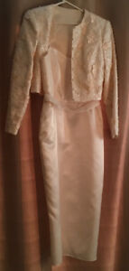 Wedding dress - tailored with jacket