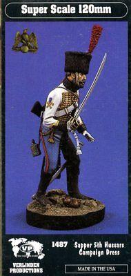 Verlinden 120mm 1:16 Sapper 5th Hussars Campaign Dress Resin Kit 1487