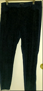 Fancy black denim pants with beautiful lacy front