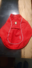 Dog Ruffwear Overcoat XS Red