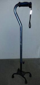 Used adjustable quad support cane