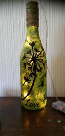 Green Bottle lamp