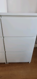 Ikea 3 drawer unit NOW SOLD