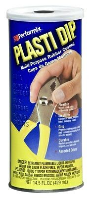 White 14.5oz Performix Plasti Dip Plastic Multi Rubber Grip Coating Handle Tool