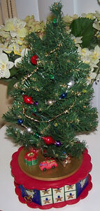 Avon Lighted Musical Advent Calendar Tree plus Ornaments London Ontario image 2