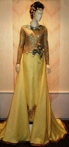 Gold & Yellow Wedding Dress