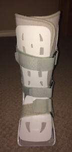 Aircast XP  Walking Boot + various ankle supports