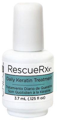 CND Mini Rescue RXx 3.7ml ~ DAILY KERATIN TREATMENT ~