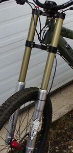 Stratos S8 Dual Crown Mountain Bike Fork DH FR - great condition