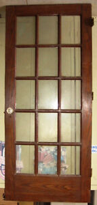 French Door Antique Oak