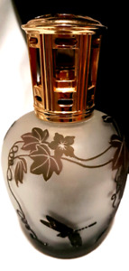 Stunning NEW dragonfly black frosted glass aroma oil diffuser