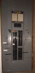 Breaker Panel - Square D, 200 Amps,  38 of 40 Slots Filled