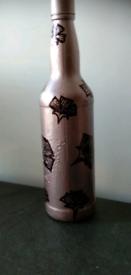 Antique Bottle art decor.
