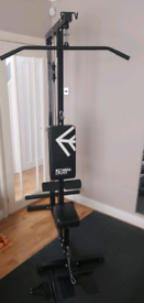 Mirafit lat pull down cable machine plate loaded *GREAT CONDITION*