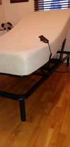 Twin electric bed