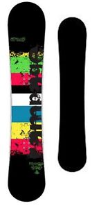 New-FIREFLY-RAMPAGE-160cm-All-Mountain-snowboard