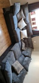 Grey Corner sofer