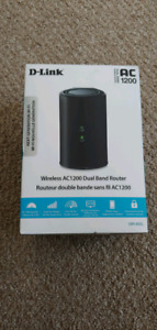 Wireless router d link ac1200