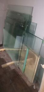 GLASS DOORS/PANELS for SALE. NEW.