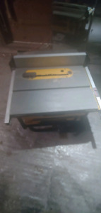 DEWALT Compact table saw , 10-in