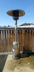 Outdoor propane heater