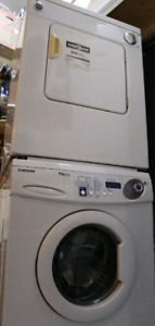 Samsumg apartment size washer and dryer