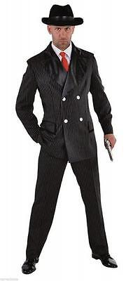 Gangster Anzug Kostüm Mafia 20 er 30 er Jahre Al Capone Ganove Gangsterkostüm ()