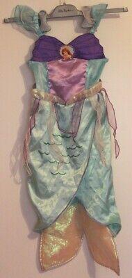 Kostüm Original Disney Arielle Meerjungfrau Nixe 5-6 Jahre - Disney Arielle Kostüm