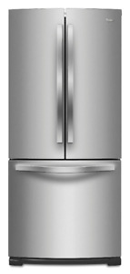 "Whirlpool WRF560SFYM 30"" French Door Refrigerator"