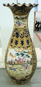 Hand-painted Chinese Vase #2