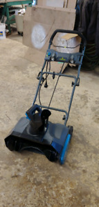 """Yardworks 20"""" electric snow thrower with lights"""