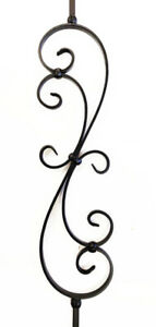 Wrought Iron Stair Baluster