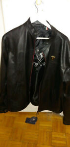 Brand new XXL Emporio Armani leather jacket