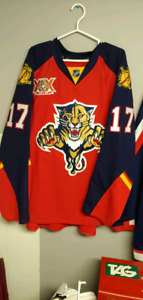 Autographed Florida Panthers Jesse Winchester Jersey