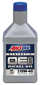 Amsoil Synthetic Diesel Oil 15 W - 40 - We Have It
