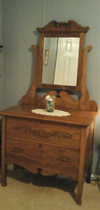 1800s  antique  dresser