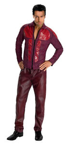 Derek Zoolander Costume - Burgandy - XL - NEW