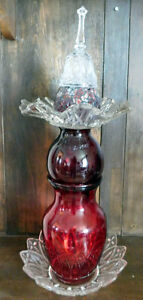 Red Glass Totem