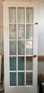 GLASS PANEL FRENCH DOOR