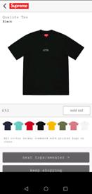 a5e444b60a Supreme t shirt | Men's T-Shirts for Sale - Gumtree